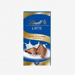 Tavoletta Cioccolato al latte senza zucchero Lindt